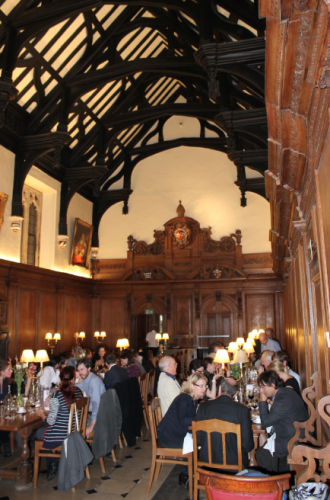 Conference dinner (Hall of Corpus Christi College)
